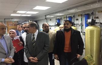 محافظ كفر الشيخ يتفقد مستشفى العبور للتأمين الصحي | صور