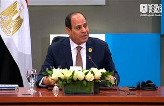 الرئيس السيسي: الأمن القومي في مصر متعلق بشكل مباشر بالأوضاع في ليبيا