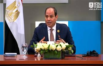 الرئيس السيسي: مصر مضت فى برنامج تطوير البنية الأساسية بشكل غير مسبوق