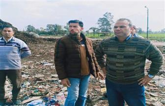 رئيس مدينة المحلة: مذكرة لفسخ تعاقد متعهد مصنع تدوير القمامة | صور