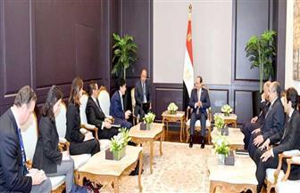 """الرئيس السيسي يستقبل مدير عام منظمة الأغذية والزراعة التابعة للأمم المتحدة """"فاو"""""""