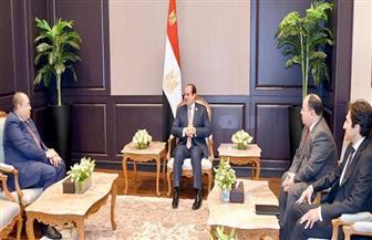 الرئيس السيسي يستقبل النائب الأول لرئيس البنك الدولي