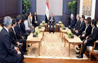 الرئيس السيسي يستقبل مجموعة الخبراء اليابانيين المزمع إشرافهم علي منظومة المدارس اليابانية| صور