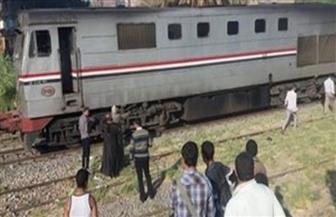 مصرع شاب صدمه قطار خلال عبوره مزلقان ترعة القاصد بطنطا