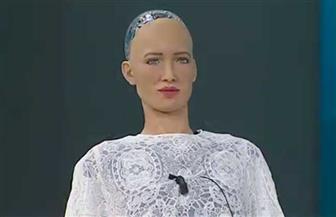 """الروبوت """"صوفيا"""" توجه رسالة لشباب العالم قبل مغادرتها شرم الشيخ.. تعرف عليها"""