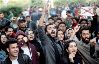 """إصابة العشرات في احتجاجات ضد """"قانون تعديل المواطنة"""" بالهند"""