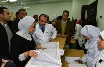 وزيرة الصحة: تتفقد التشغيل التجريبي لمستشفى إسنا | صور