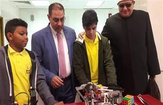 طالبان من معهد الغردقة يحصلان على المركز الأول بالمعرض الفني للمخترعين والمبتكرين | صور