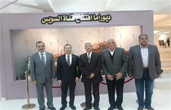 سفير بنما بالقاهرة يتفقد المعالم التاريخية والأثرية بمتحف النصر الحديث في بورسعيد | صور
