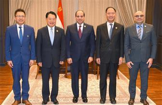 """الرئيس السيسي يستقبل مدير عام منظمة الأمم المتحدة للتنمية الصناعية """"يونيدو"""""""