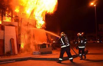 السيطرة على حريق مصنع بلاستيك في المرج دون إصابات