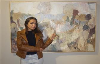 """دينا فاضل عن معرضها """"الحب فوق الخوف"""": رحلة ذاتية بأبعاد صوفية   صور"""