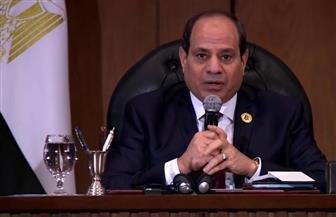الرئيس السيسي في منتدى شباب العالم: مصر تسعى لتطوير 5 بحيرات تطل على البحر المتوسط