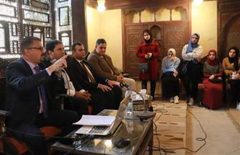 أسرار مقبرة العنب بمحاضرة لمركز زاهي حواس في بيت السناري | صور