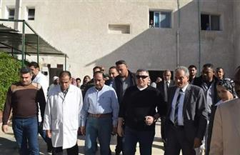 محافظ البحر الأحمر يتفقد مستشفى سفاجا ويتابع استعدادات مجابهة السيول | صور