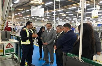 سفير بنما بالقاهرة يتفقد مصانع الضفائر الكهربائية والأسماك بالمنطقة الصناعية جنوب بورسعيد