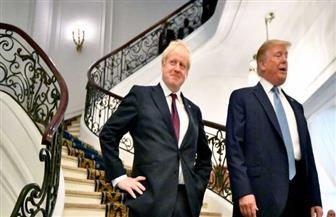 """جونسون وترامب يسعيان إلى اتفاقية """"طموحة"""" للتجارة بين بريطانيا وأمريكا"""
