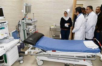 هالة زايد خلال تفقدها لمستشفى الأقصر العام: حريصون على استمرار تقديم الخدمة الصحية بكافة المنشآت الطبية|صور