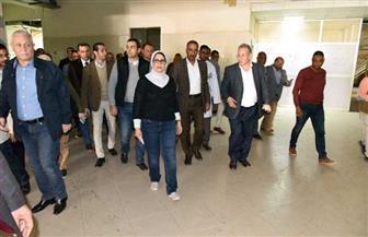 وزيرة الصحة تختتم زيارتها التفقدية لمحافظة الأقصر | صور