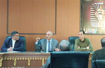 انطلاق حملة تعريفية بمنظومة التأمين الصحى الشامل بمدينة القرنة غرب الأقصر| صور