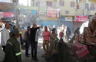 رئيس مدينة الأقصر يتخذ إجراءات صارمة ضد عربات الحنطور|صور