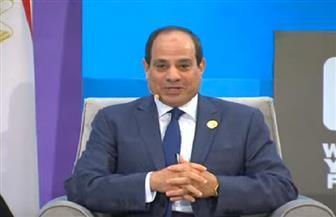 """بث مباشر.. الرئيس السيسي يعقد لقاء مفتوحا مع مجموعة من """"شباب العالم"""" بشرم الشيخ"""