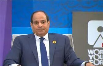 الرئيس السيسي: لا يمكن نجاح أي مشروع مبني على التدمير والخراب