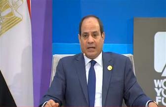 الرئيس السيسي: نعمل على الدفع بالشباب للعمل فى الشأن العام