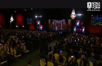 الرئيس السيسي يشاهد فيلما تسجيليا حول منتدى شباب العالم في نسخه المختلفة