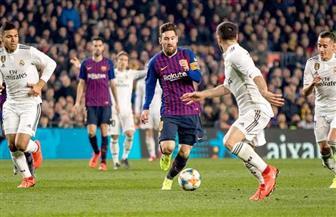 كلاسيكو متكافئ بين برشلونة وريال مدريد وسط مخاوف أمنية| صور