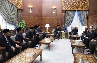 شيخ الأزهر يلتقي رئيس وزراء ولاية جوهور بماليزيا| صور