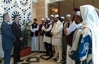 مرصد الأزهر يستقبل وفدا من أئمة ودعاة  ليبيا   صور