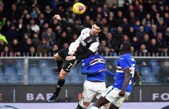 ضربة رأس رائعة من رونالدو تقود يوفنتوس للانفراد بصدارة الدوري الإيطالي