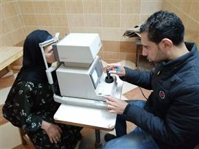 كشف وعلاج مجاني لـ932 مواطنا في قافلة للعيون بجزيرة شندويل