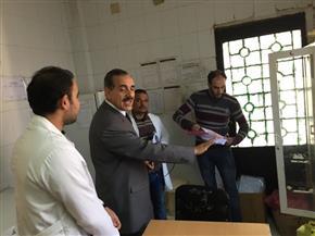محافظ كفرالشيخ يتفقد المرافق العامة والخدمات ومدارس قرية ميت الديبة  صور