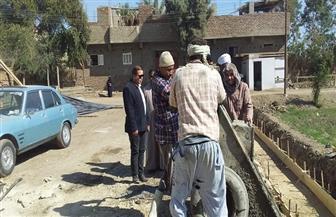 رئيس مدينة الزينية يتفقد مخرات السيول ومساكن الإيواء | صور