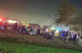 مصرع 7 وإصابة 4 بينهم أطفال في اصطدام قطار بسيارة في ميت غمر