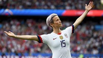 ميجان رابينو تحسم جائزة أفضل لاعبة في العالم 2019