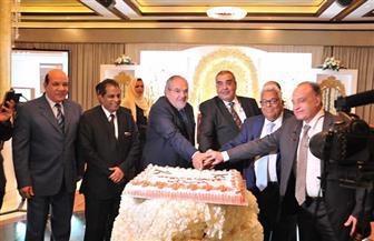 المصريون بالخارج يقيمون حفل استقبال لقنصل مصر العام الجديد بالسعودية | صور