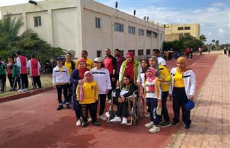 أبناء جامعة أسيوط من ذوي الهمم يحصدون 21 ميدالية في بارالمبياد الجامعات | صور