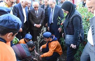إطلاق المرحلة الثانية من حملة زراعة الأشجار المثمرة في بورسعيد بالتعاون مع نقابة الزراعيين