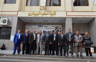 افتتاح ملتقى التوظيف بكلية الطب البيطري بجامعة المنصورة | صور