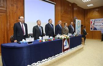 محافظ كفرالشيخ يشهد المؤتمر العلمي الصيدلي السادس بالجامعة | صور