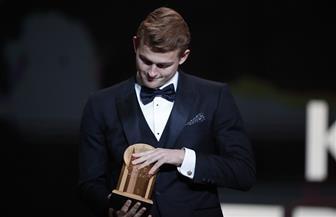 """حفل الكرة الذهبية.. دي ليخت يفوز بجائزة """"كوبا"""" لأفضل لاعب شاب 2019"""