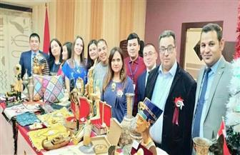 السفارة المصرية في كازاخستان تشارك في البازار الخيري السنوي   صور