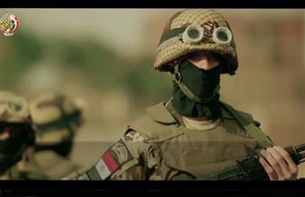 """""""عقيدة واحدة"""".. القوات المسلحة تنشر فيديو عن رجال لا يقبلون الهزيمة"""