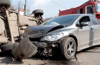 مصرع وإصابة خمسة من أسرة واحدة في حادث مأساوي بصحراوي المنيا