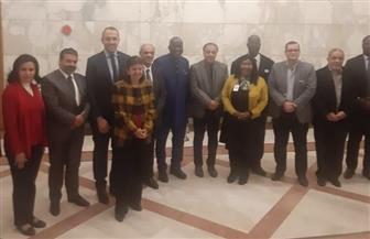 لجنة التعاون الإفريقي باتحاد الصناعات تطلق بعثتها الرابعة إلي غانا وكوت ديفوار مارس 2020