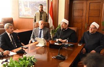 وزير الأوقاف يعلن موعد افتتاح المجمع الإسلامي ببورفؤاد بتكلفة 5 ملايين جنيه   صور