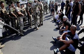إصابة 4 عسكريين في مواجهات بين محتجين والجيش في بيروت
